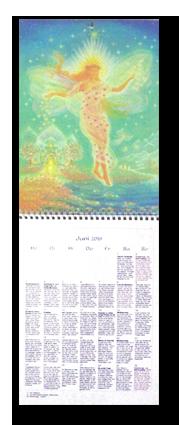 Brigitte Devaia ART Kalender offen